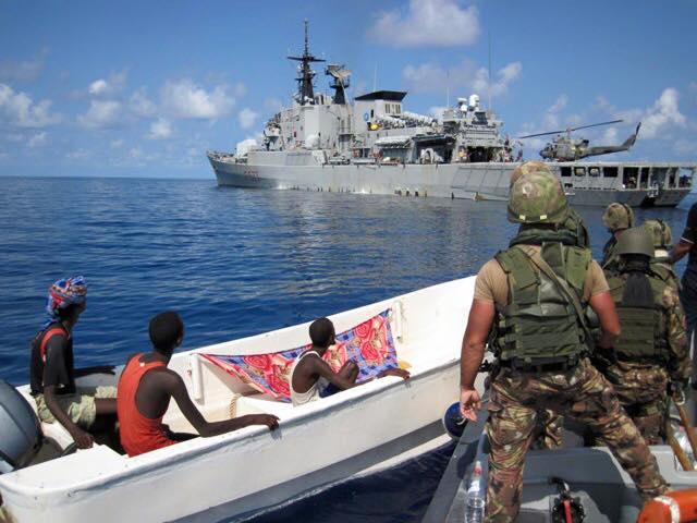 pirtai somali catturati da nave italiana