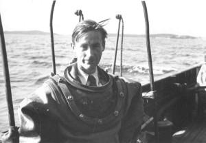 Arne Zetterstrom, il palombaro con la cravatta di Fabio Vitale