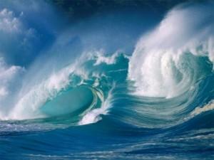 Le onde del mare