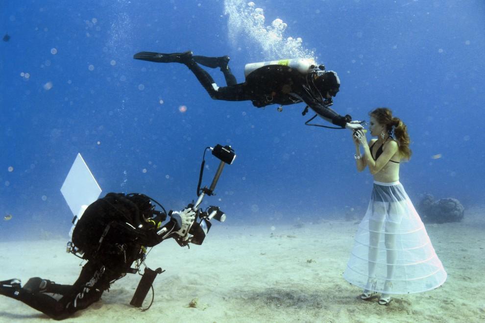 servizio fotografico realizzato da Johannes Felten ad Eilat, sul Mar Rosso