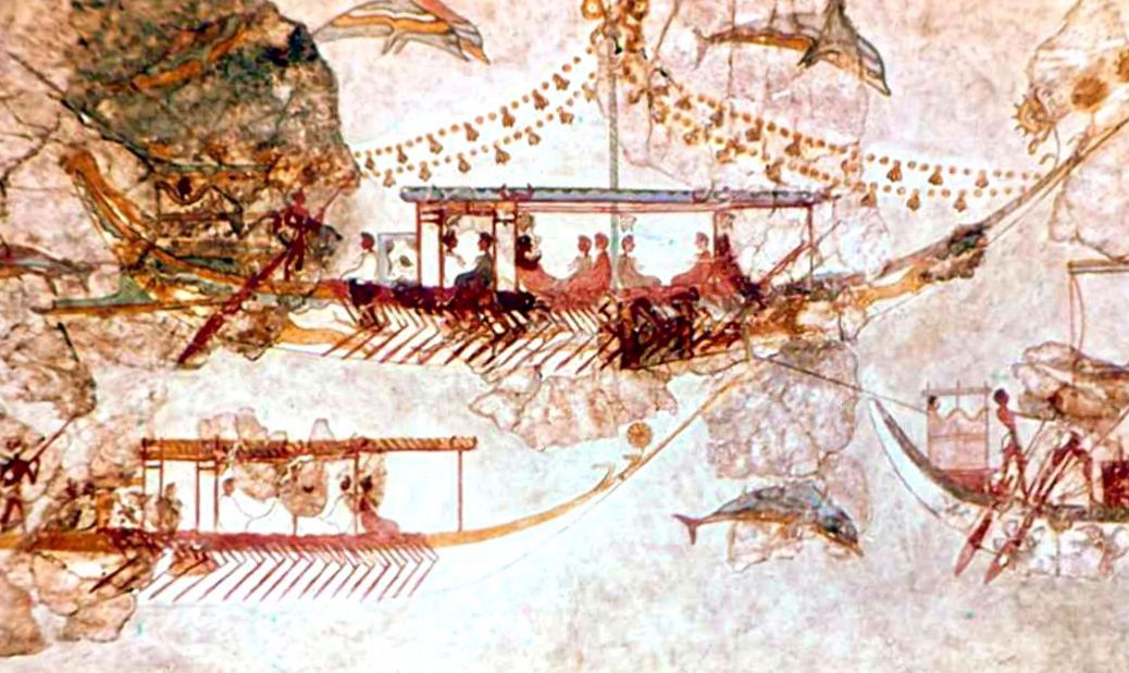 Crete_Fresco_Naval Expedition from Akrotiri_02