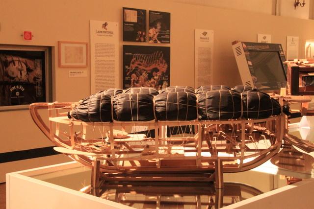 Il Sottomarino Meccanico in esposizione_Foto Maccione