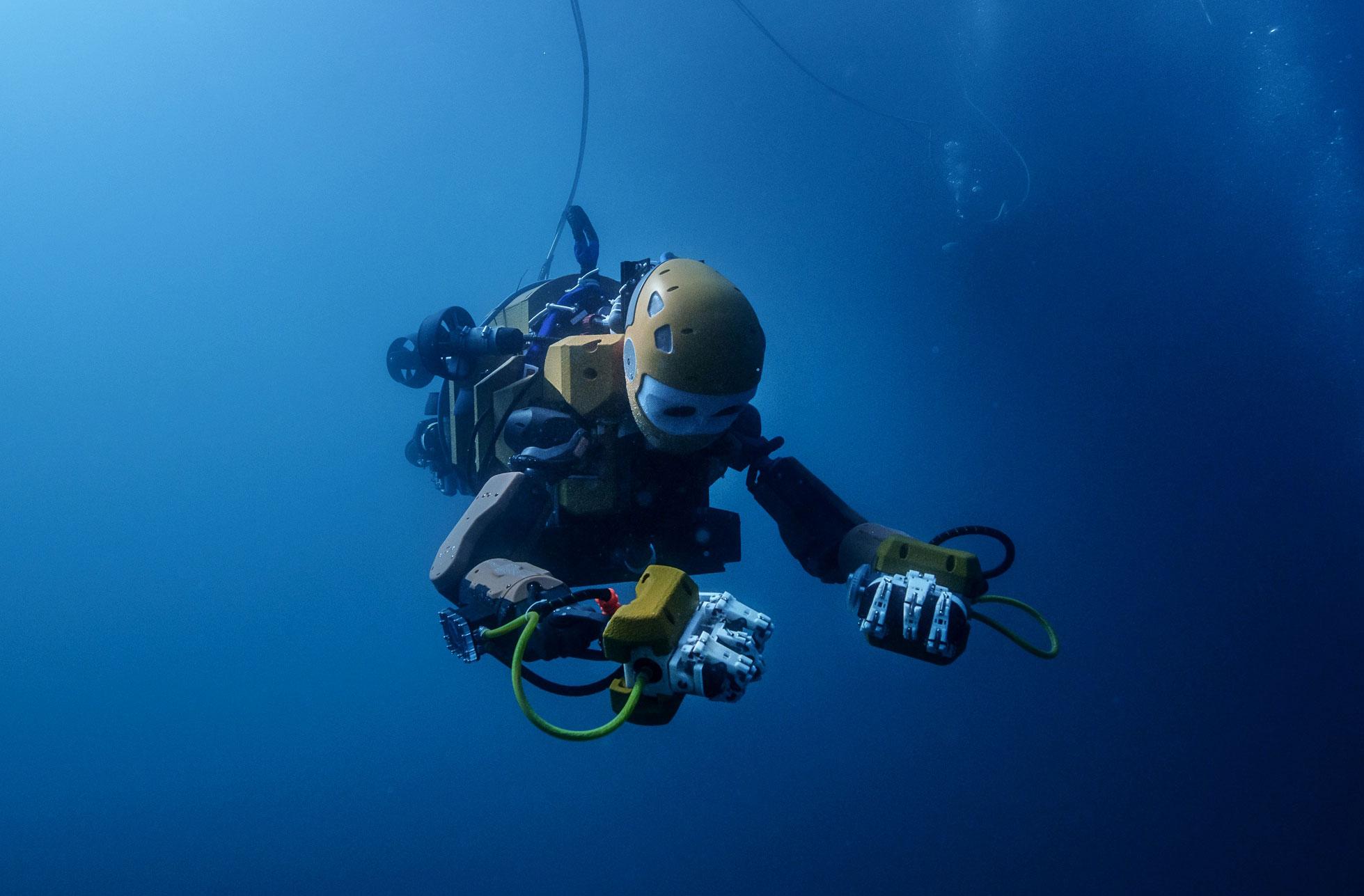 OceanOne … il primo robot archeologo