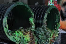 toxic sewage