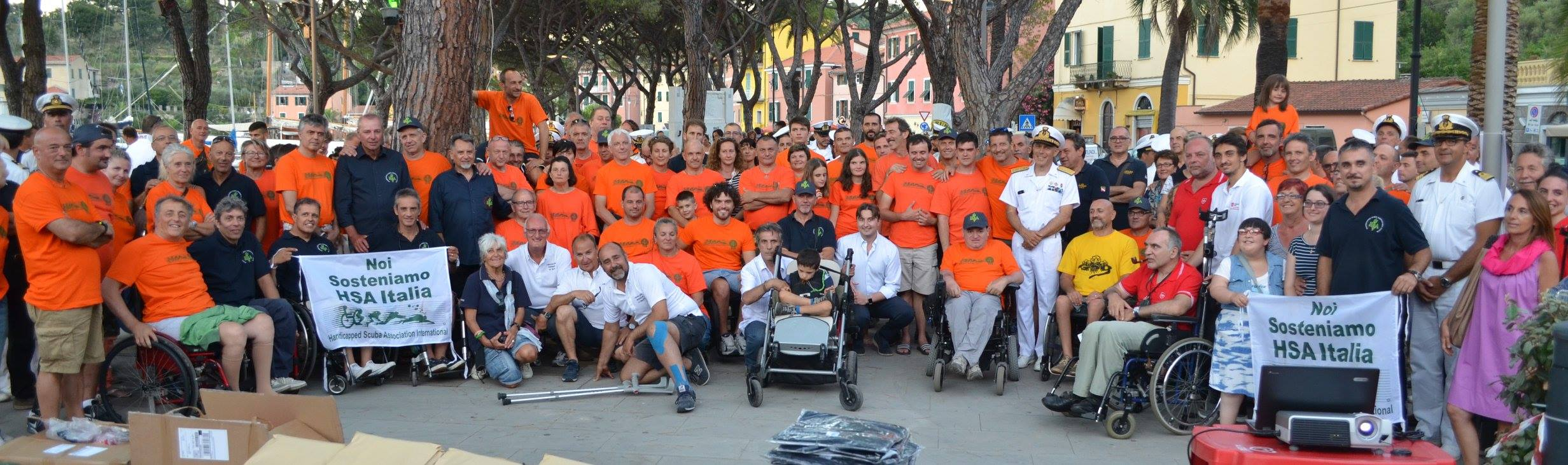 Dieci anni Insieme in Immersione a Porto Venere … decima edizione dell'evento organizzato da HSA e dal COMSUBIN