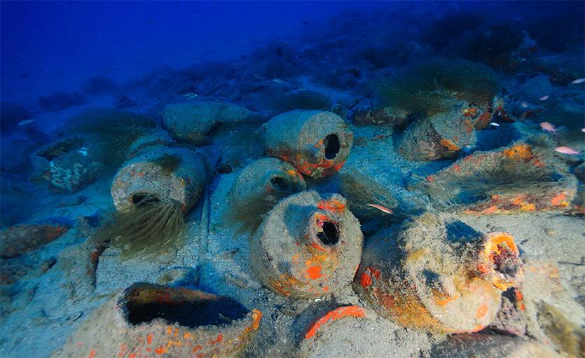 La nave romana di Albenga di Andrea Mucedola