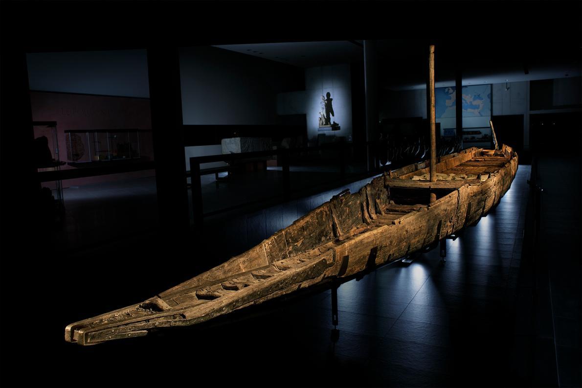 relitto nave romana fluviale