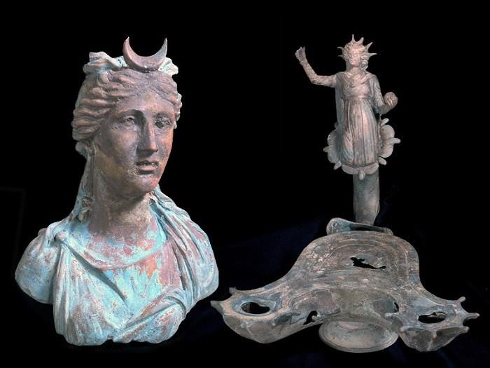 Archeologia delle acque: Ritrovato un carico spettacolare nei resti di relitto di una nave romana nei pressi del porto di Cesarea di Andrea Mucedola