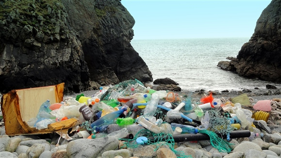plastic-rubbish-on-ramsey-beach