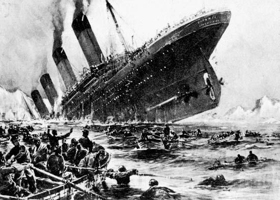 affondamento del Britannic