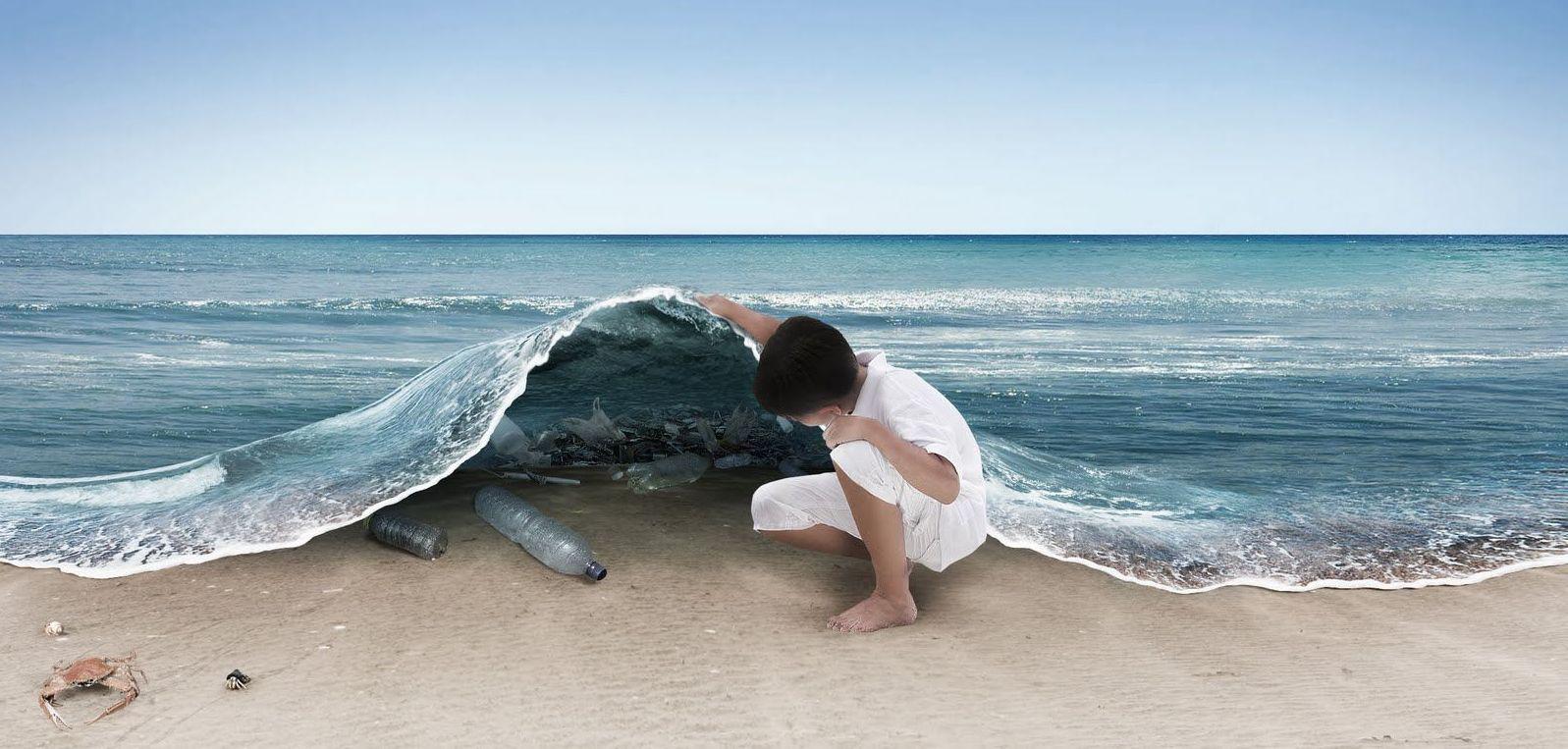 Basta agli Oceani di plastica di Aaronne Colagrossi