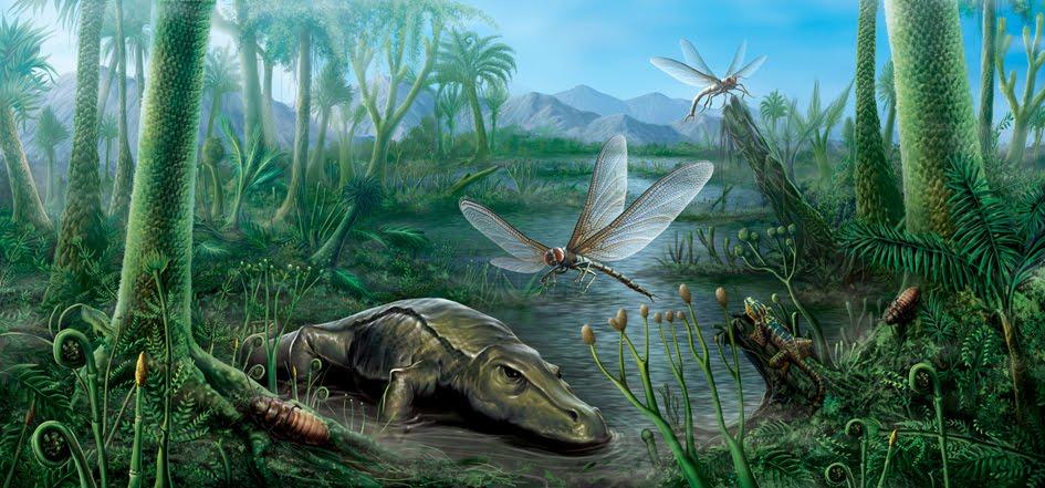 Viaggio nei proto-mari, dal Carbonifero al Mesozoico