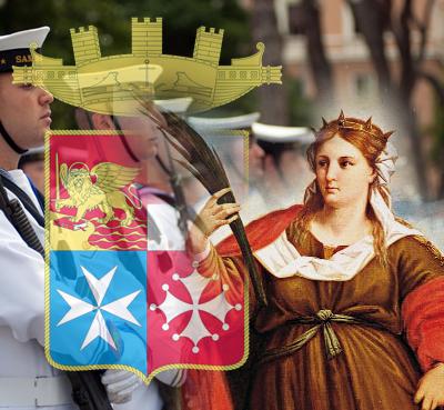 Si è celebrata a Palazzo Marina la giornata di Forza Armata dedicata al 152° anniversario della Marina Militare. Roma,10 giugno 2013. ANSA/UFFICIO STAMPA MARINA MILITARE +++EDITORIAL USE ONLY - NO SALES+++