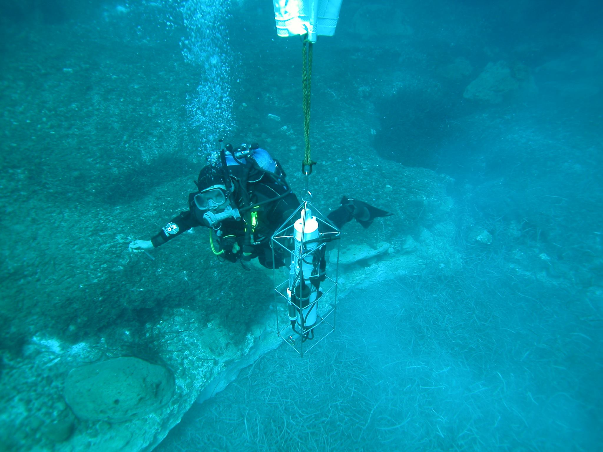 scientific diver caramanna
