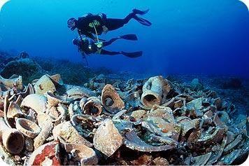 Il relitto più antico conosciuto al mondo ha oltre 4000 anni … Dokos, Mar Egeo