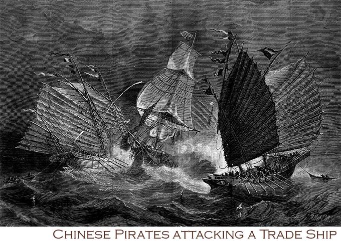 Ching Shih, la signora di Canton, storia della più grande pirata dei mari della Cina di Andrea Mucedola