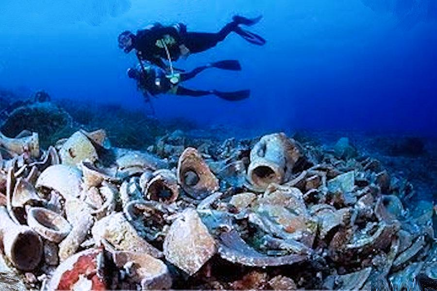 Il relitto più antico conosciuto al mondo ha oltre 4000 anni ... Dokos, Mar Egeo