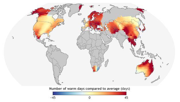 extremely hot ndays 2016