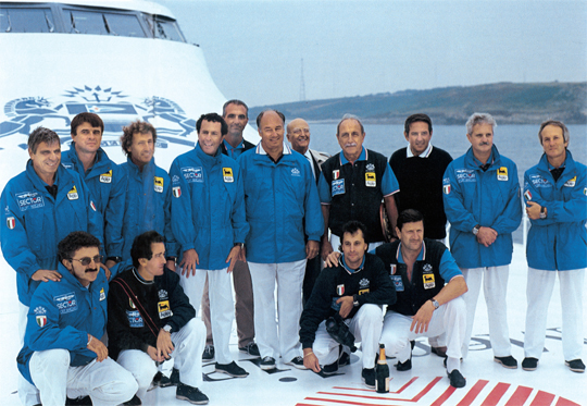 15-Arrivo-Destriero-equipaggio-con-Aga-Khan