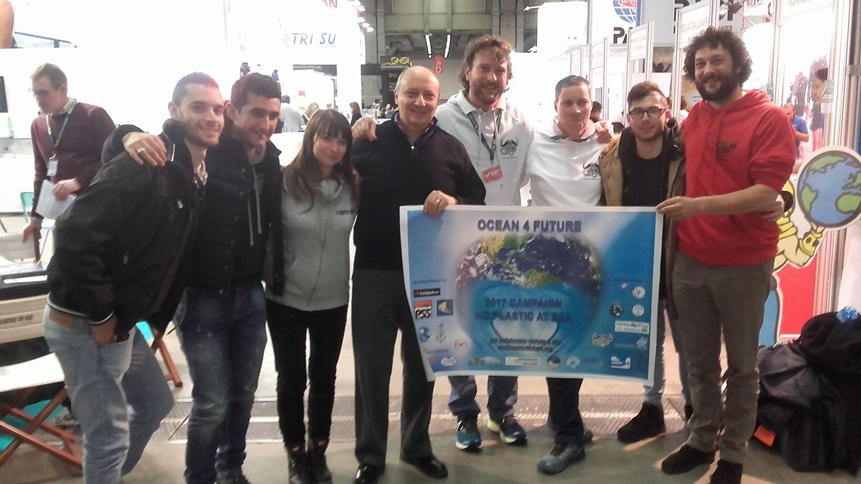 OCEAN4FUTURE: NO PLASTIC AT SEA CAMPAIGN 2017 … Diving school I Sette Mari, protagonisti per esportare la cultura del mare