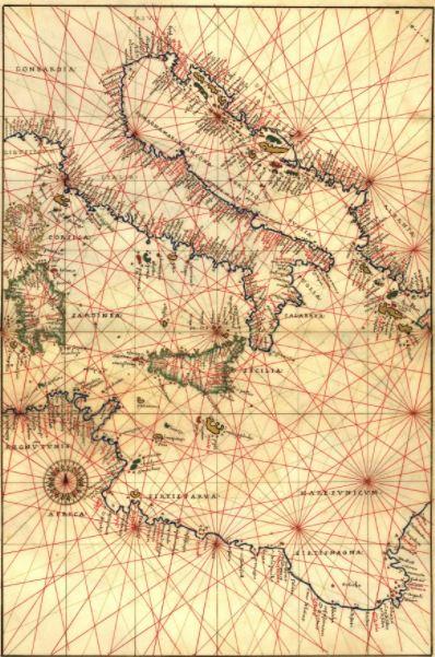 carta XVI secolo