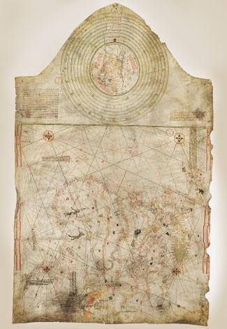 mappa cristoforo colombo