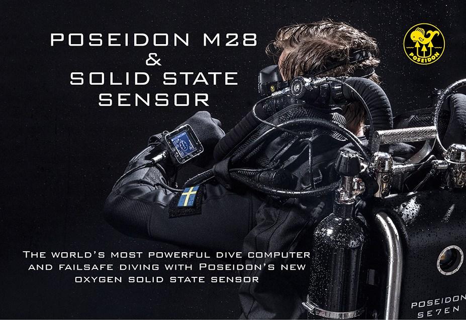Rebreather, Poseidon M28 e sensori allo stato solido