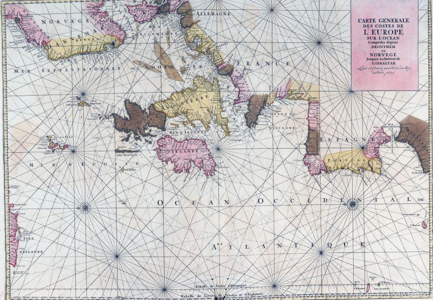 L'Atlas Nouveau des Cartes Marine di Alexis Hubert Jaillot: un portolano di successo del XVII secolo