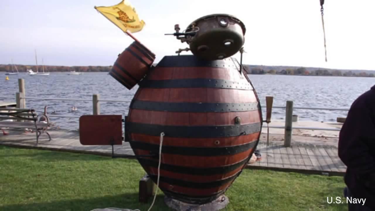 Storia navale: David Bushnell, dall'American Turtle ai Bushnell's keg …