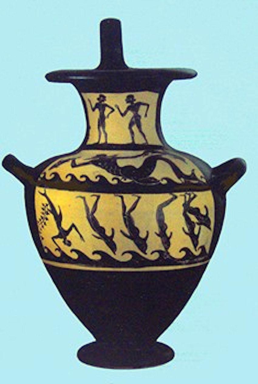 La leggenda di Dioniso e dei pirati che divennero delfini di Andrea Mucedola