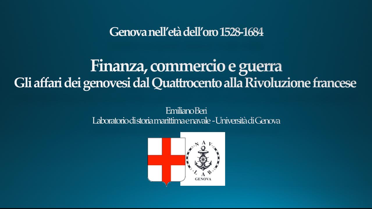 Finanza, commercio e guerra: gli affari dei Genovesi dal Quattrocento alla Rivoluzione Francese di Emiliano Beri