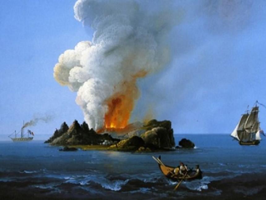 Ferdinandea, l'isola che, forse, non c'è     di Andrea Mucedola
