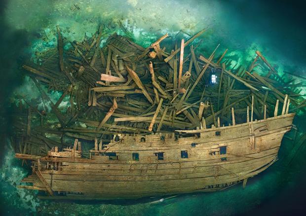 Storia navale: Il ritrovamento del Mars - dopo 400 anni ricompare dagli abissi con il suo tesoro di Andrea Mucedola