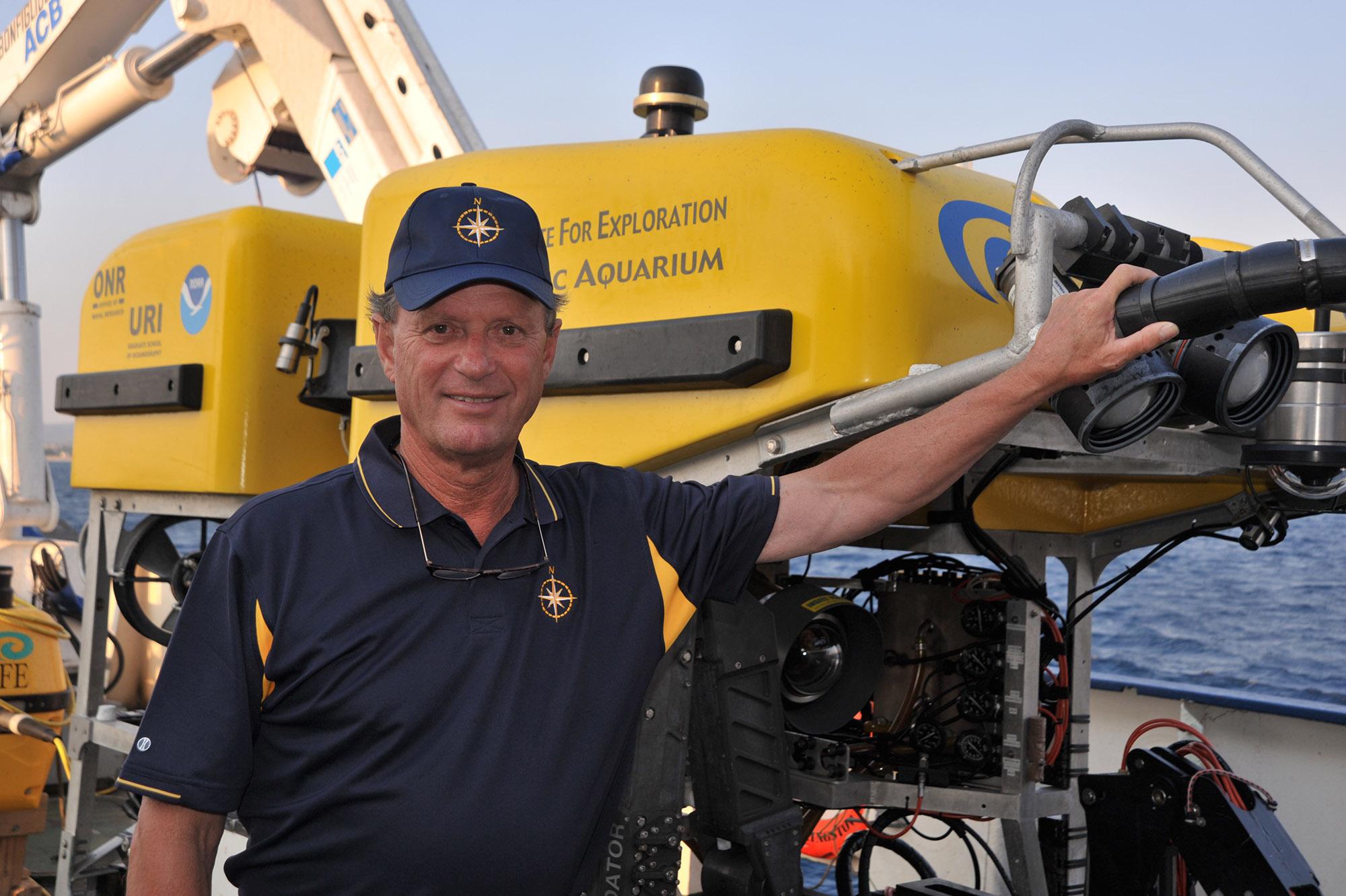 Protagonisti del mare: Robert Ballard, an Ocean deep sea explorer