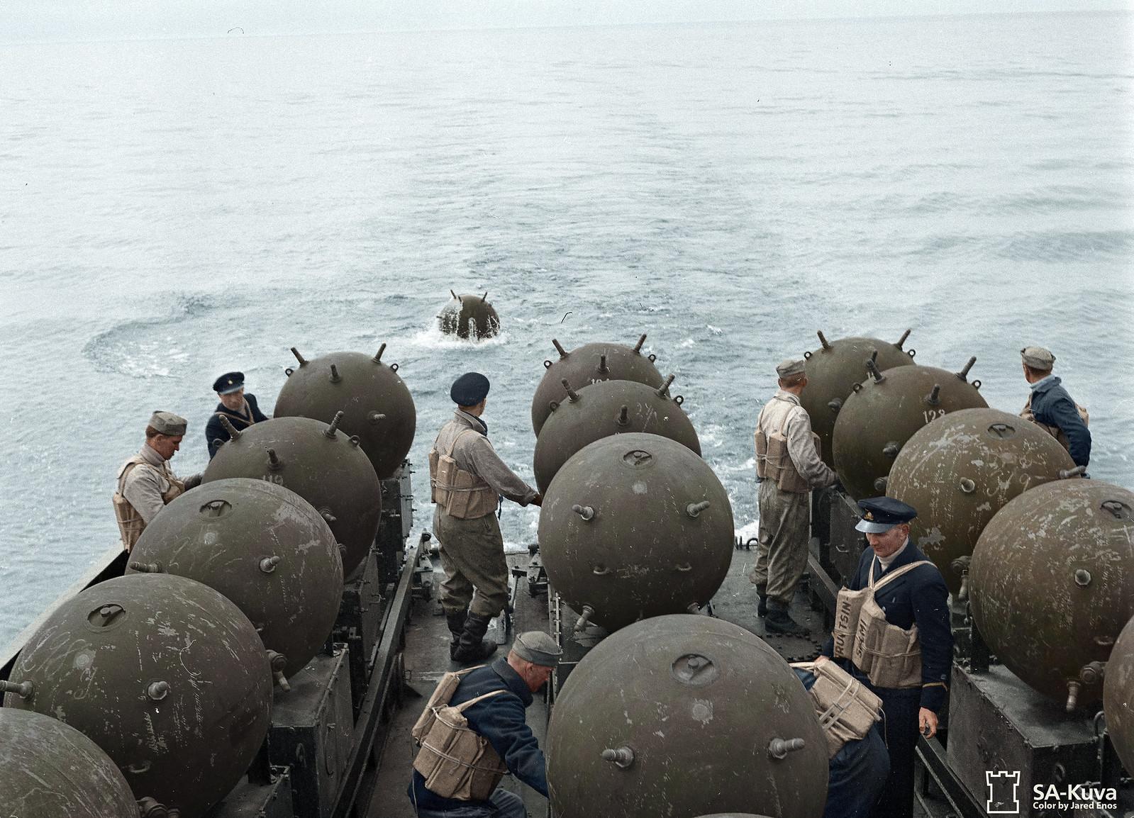 Sicurezza marittima, legittimazione dell'uso delle mine navali nel diritto internazionale parte II di Andrea Mucedola