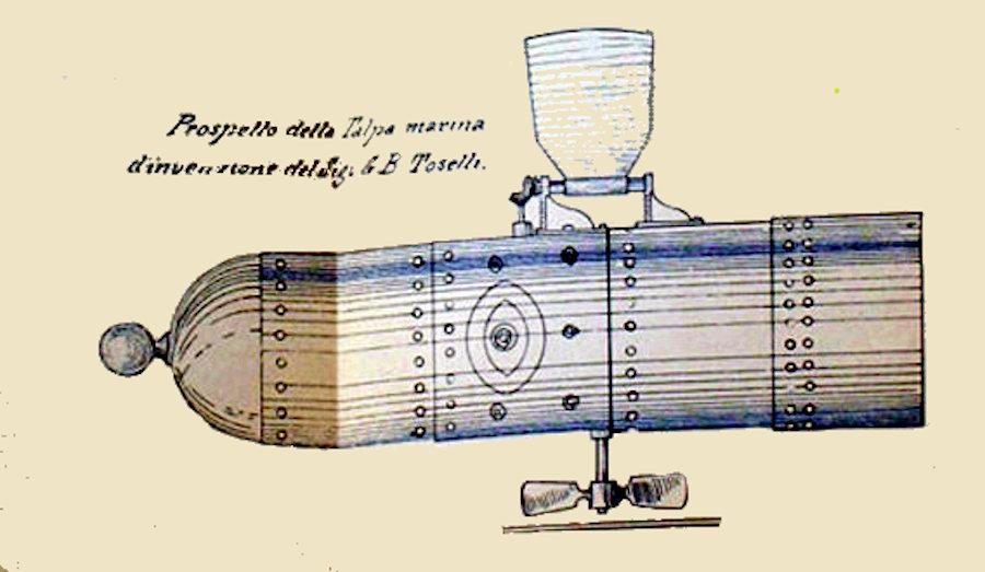 Gian Battista Toselli e le sue invenzioni: un precursore dei successi dell'Artiglio? di Fabio Vitale