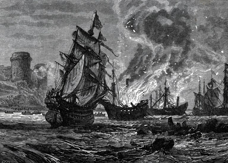 Storia navale: il raid navale di Medway, ovvero quando l'Olanda umiliò la Corona inglese