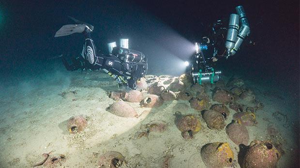 Continuano le ricerche sul relitto fenicio di Gozo, Malta