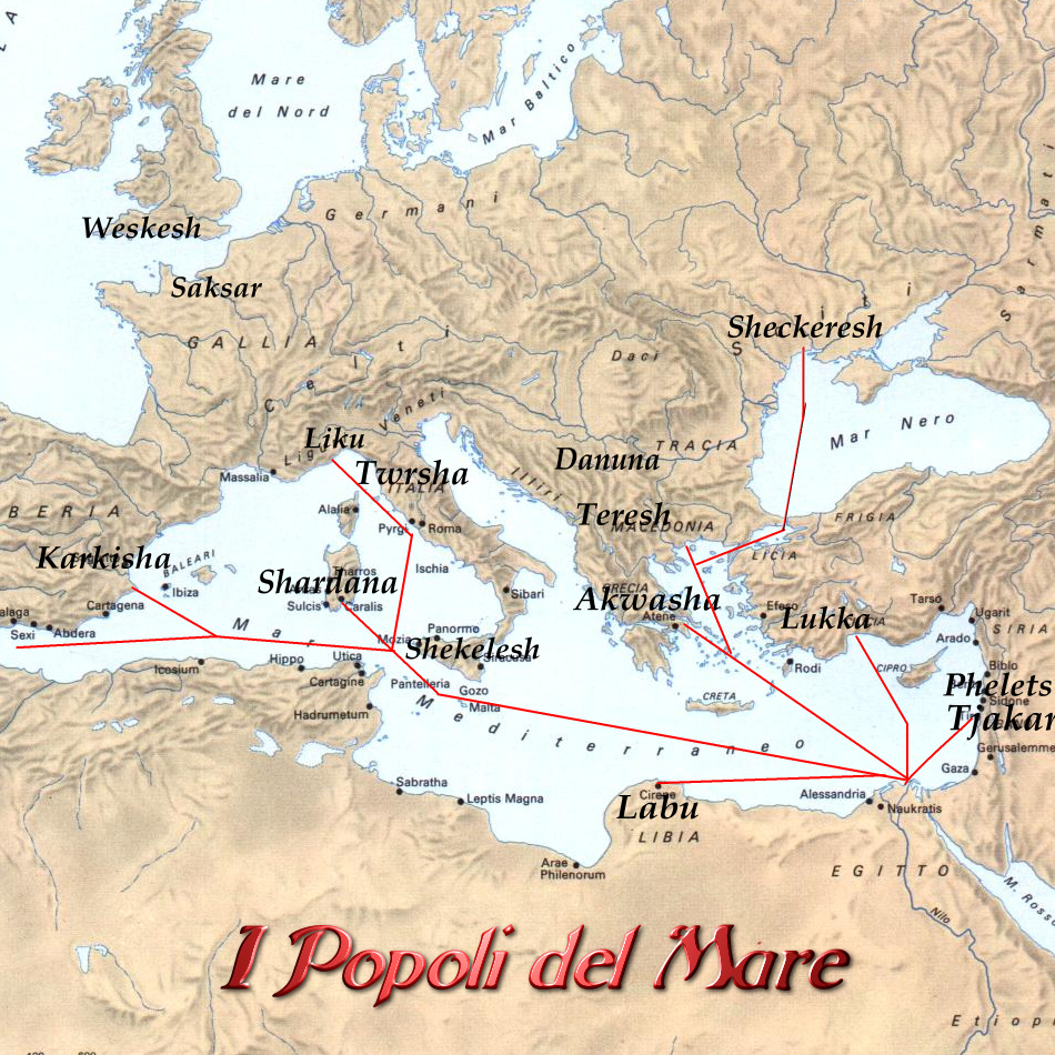 I misteriosi popoli del mare di Andrea Mucedola