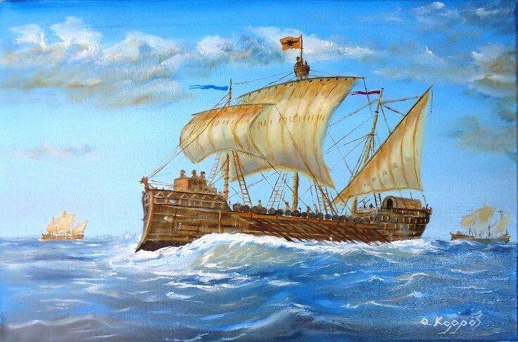 Storia navale: la Marina pontificia del VIII secolo – parte I di Gabriele Campagnano