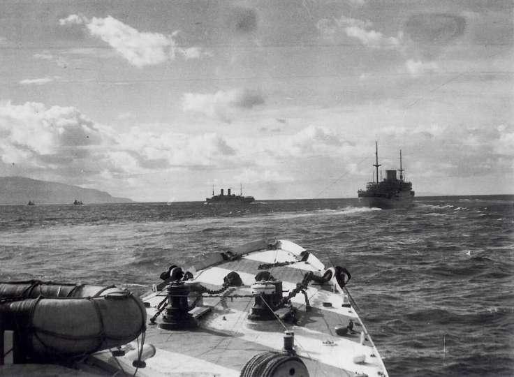 Storia navale: La guerra dei convogli di Gianluca Bertozzi parte I