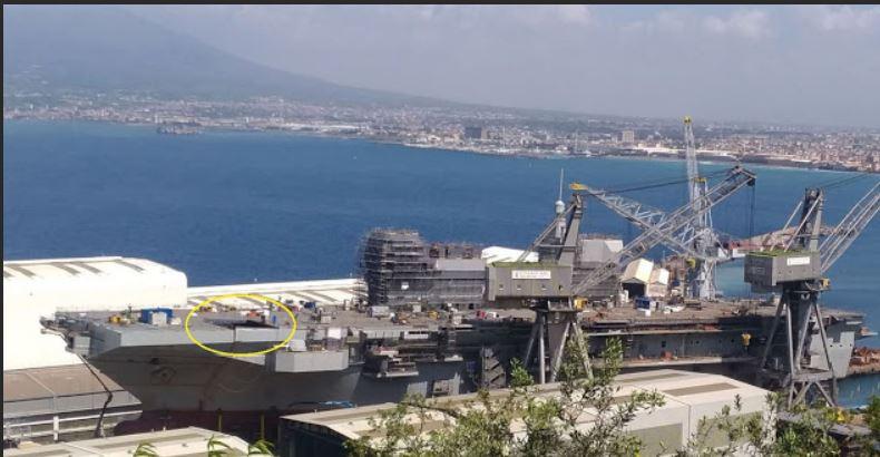 Varato il Trieste, la più grande nave della Marina Militare dal dopoguerra