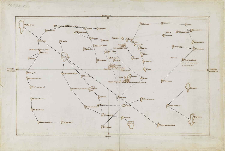 Il mistero della mappa di Tupaia