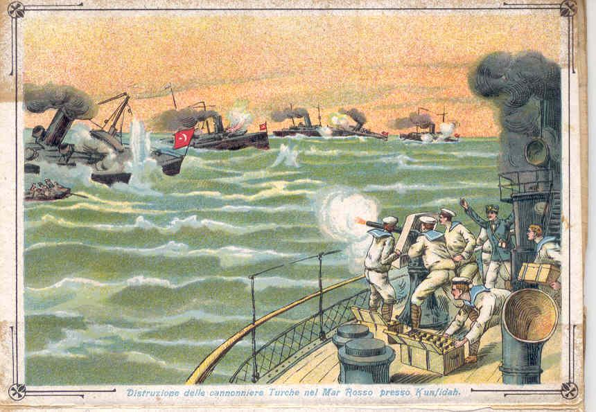La guerra italo turca in Mar Rosso, 1911-1912 di Gianluca Bertozzi