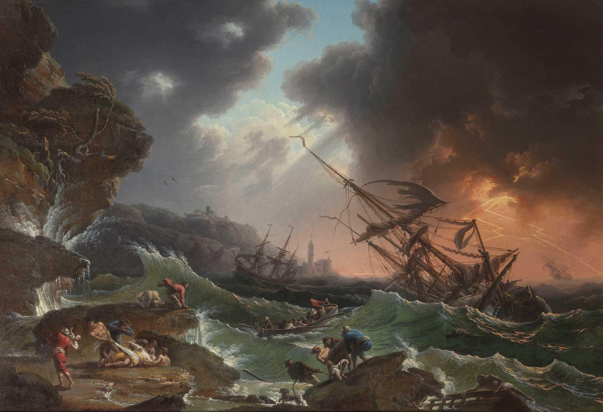 Il naufragio della HMS Couragueux in una lettera coeva dell'ammiraglio John Jervis di Marco Mostarda