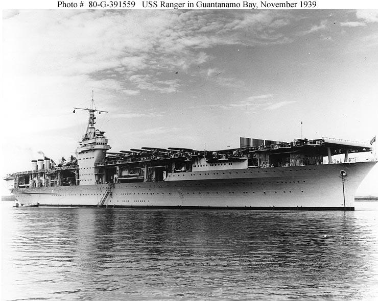 Le portaerei della US Navy durante la seconda guerra mondiale - parte I