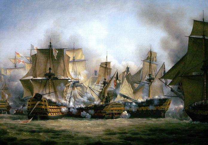 Il pensiero tattico di Nelson a Trafalgar di Marco Mostarda