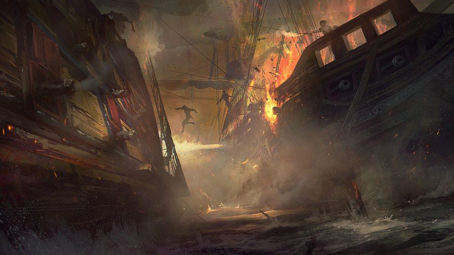 Fuoco a bordo, un pericolo conosciuto sin dall'antichità di Andrea Mucedola