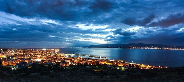 Geomorfologia dello stretto di Messina