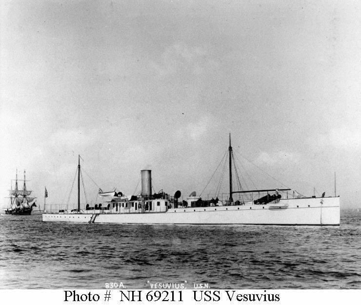 La US Navy e il cannone a dinamite Zalinsky di Aldo Antonicelli